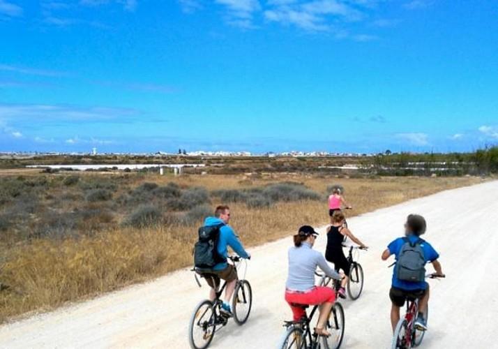 Visite guidée à vélo dans le parc naturel de Ria Formosa - Faro