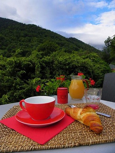 HPH15 - Domaine de Ramonjuan - petit déjeuner