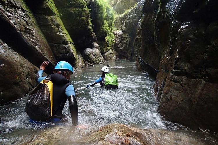 canyon technique ou sportif pyrenees autrement