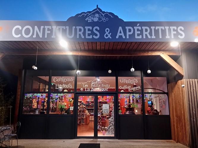 boutique by night Noël
