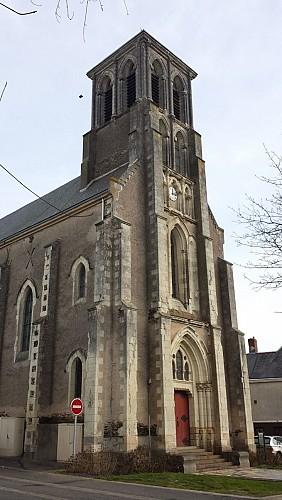 L'église de Saint-Clément-de-la-Place
