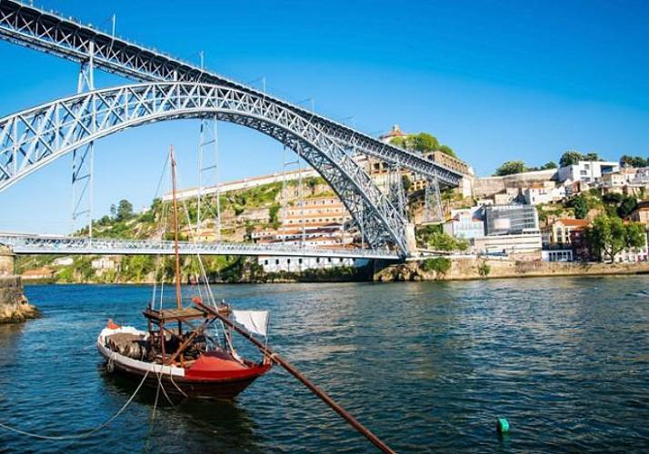 6 Brücken Schiffsfahrt auf dem Douro - Porto
