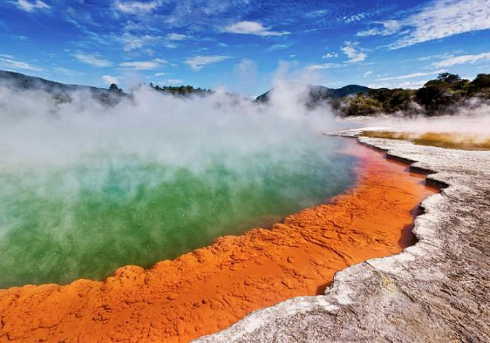 Tickets for Wai-O-Tapu – Geothermal Park and Geysers in Rotorua