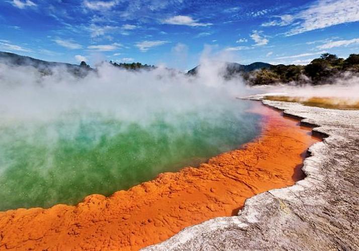Billet Wai-o-Tapu - Parc géothermique & geysers à Rotorua