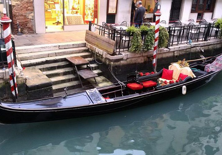 A Private Gondola Ride in Venice