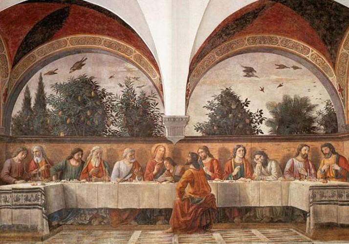 Billet coupe-file combo La Cène de Léonard de Vinci et Pinacothèque de Brera - Milan