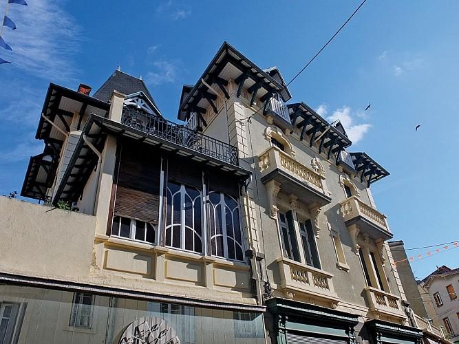 Villas, rue du Docteur Levadoux