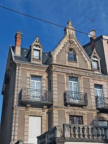 Villas, avenue de Belgique