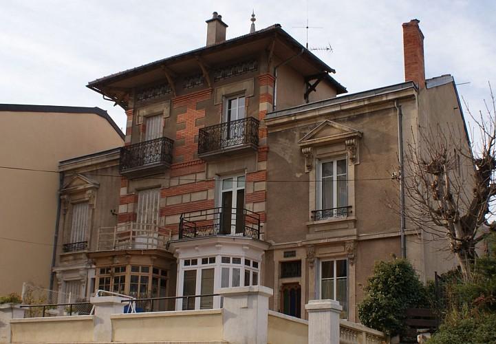 Hôtel et villas, avenue de Broqueville