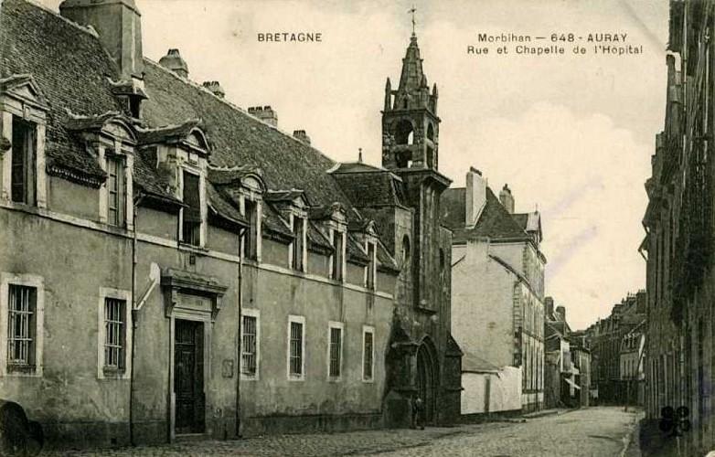L'Hôtel-Dieu et la chapelle Sainte-Hélène