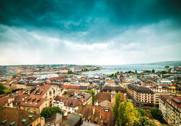 Tour de la vieille ville de Genève en petit train