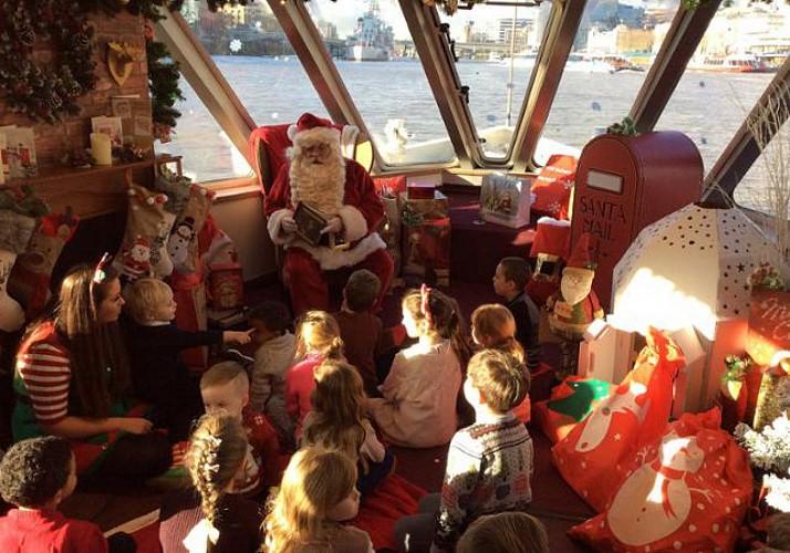 Christmas Cruise on The Thames