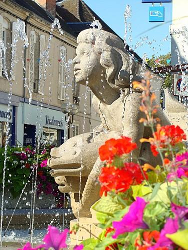 "Fontaine du ""Génie du Loir"""