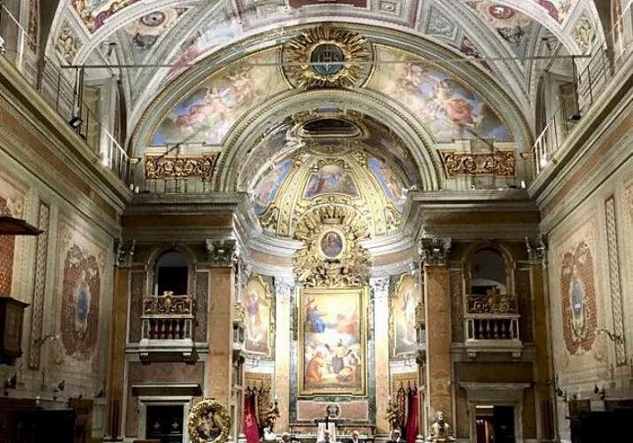 Opéra lyrique dans l'une des plus anciennes églises de Rome