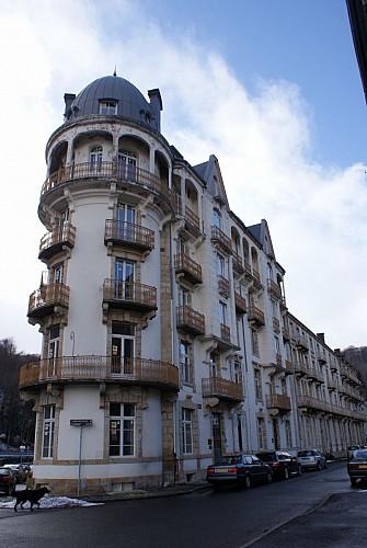 Villas et résidence boulevard Choussy