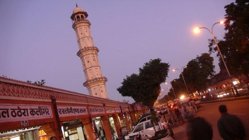 Départ de Jaipur