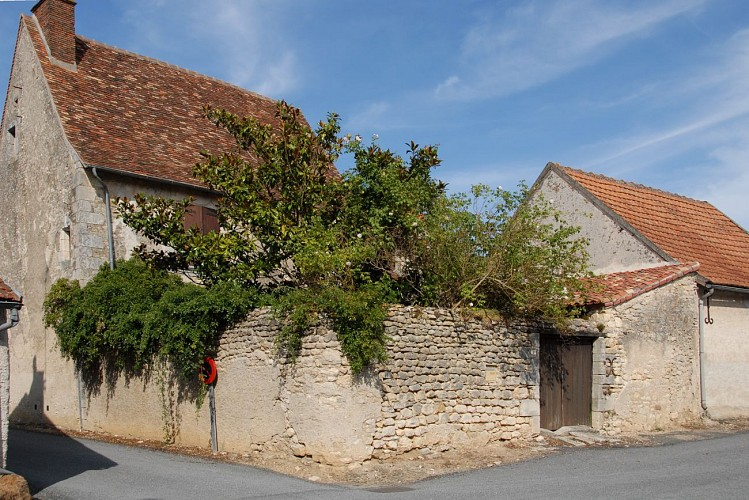 Les maisons rue de l'église