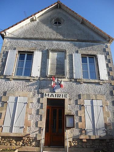 La mairie : L'ancienne école