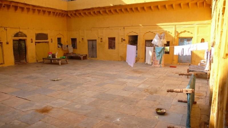 Le fort abandonné de Bissau