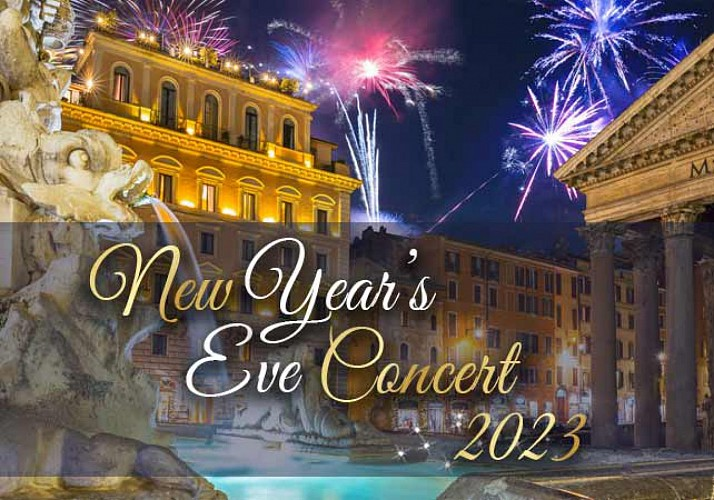 New Years Opera Concert by The Three Tenors at the Caravita in Rome