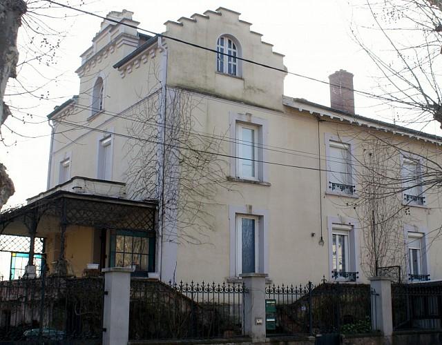 Villa 39 avenue de la Gare