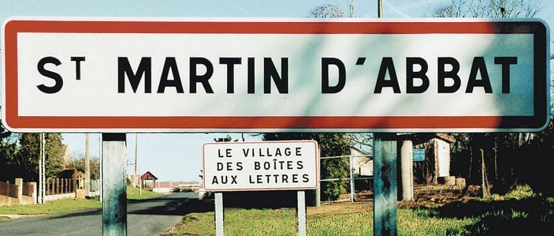 Panneaux entrée village Val-de-Loire