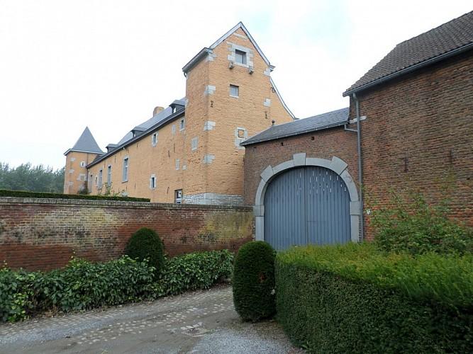 Le château-ferme de Trognée