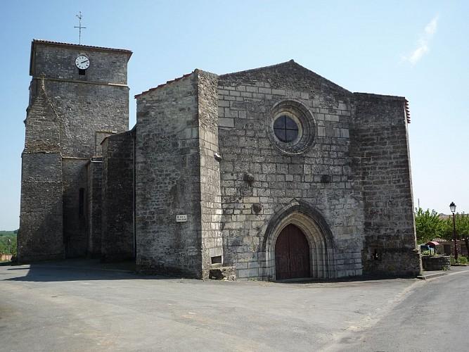L'église de Puybelliard