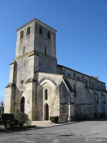 Point de départ - église Saint Pierre
