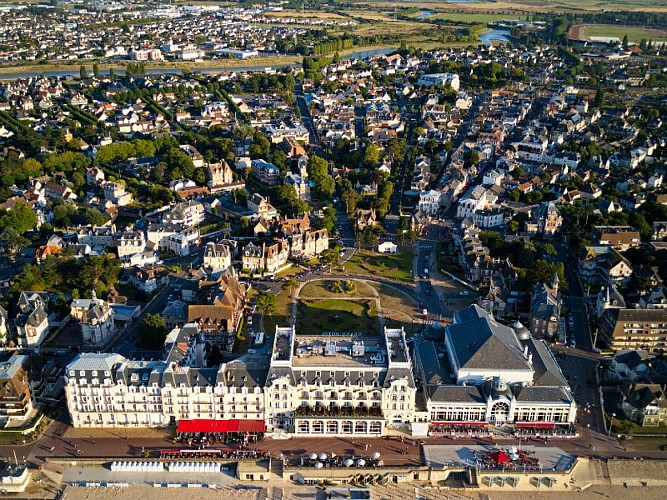 The 'fan' of Cabourg