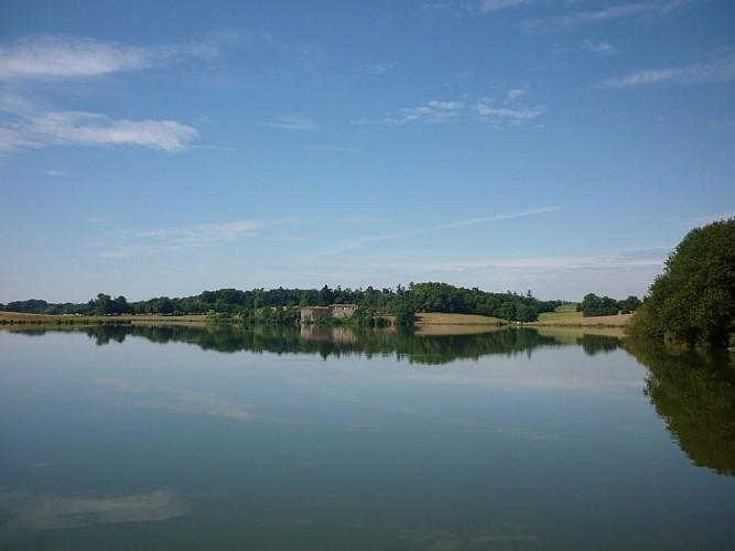Le lac de Rochereau