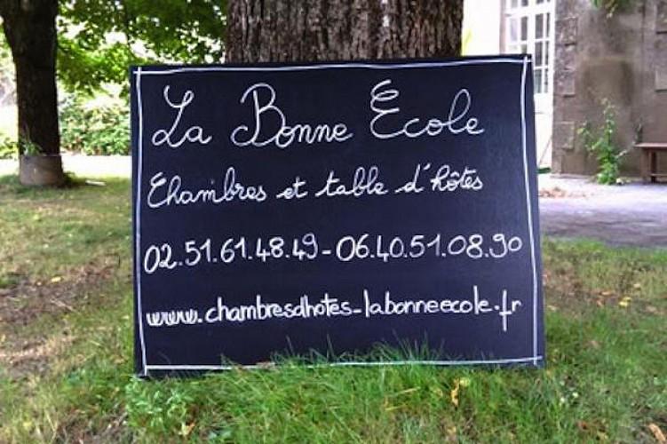 CHAMBRES D'HÔTES LA BONNE ECOLE