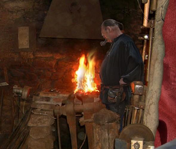 Christian Vanderlick - medieval blacksmith