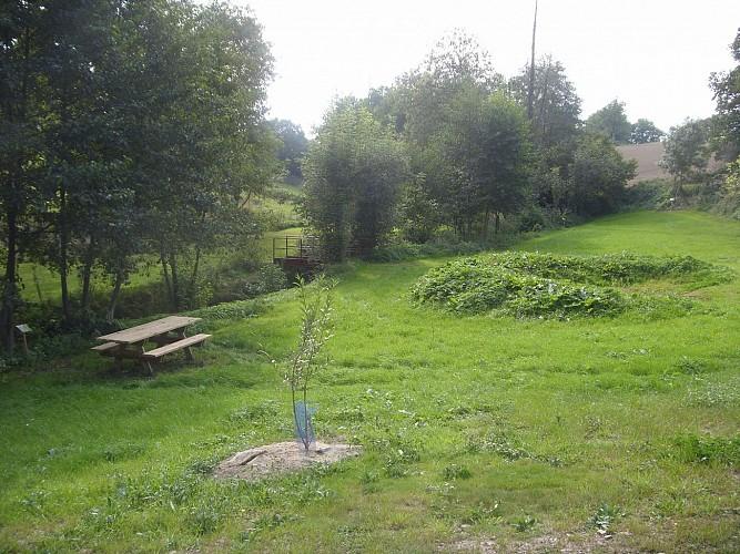 Espace vert - Rue de la Fontaine