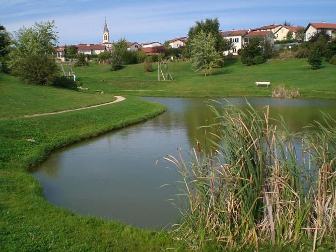 Départ du village d'Aveize