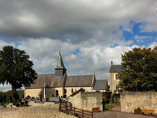 Eglise St Laurent (XIIe siècle)