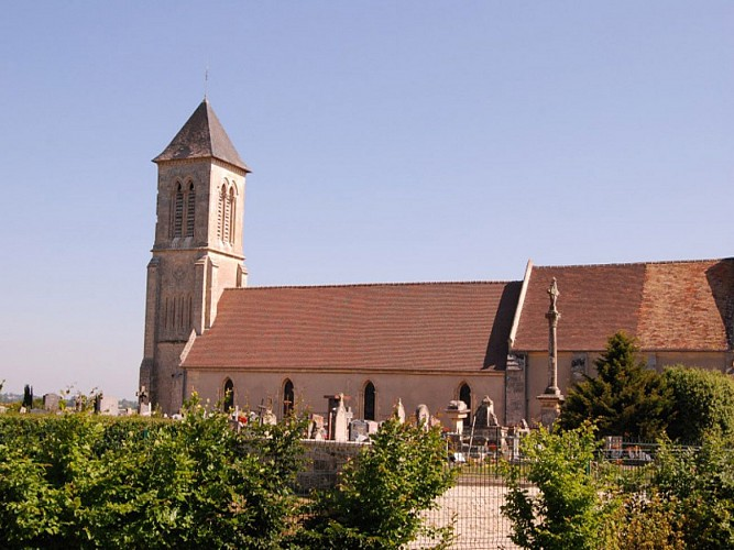 Church of St. Germain (13th and 14th century)