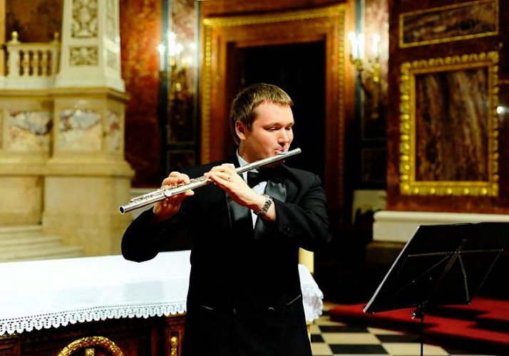 Concert d'orgue dans la basilique Saint Etienne de Pest