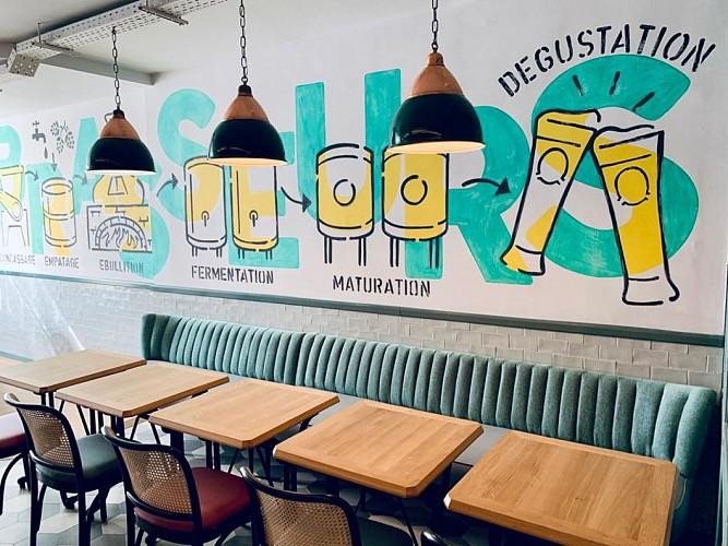 3 Brasseurs - Restaurant -Fabrique de bières