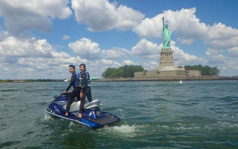 Statue of Liberty & Brooklyn Bridge - Jet Ski Tour
