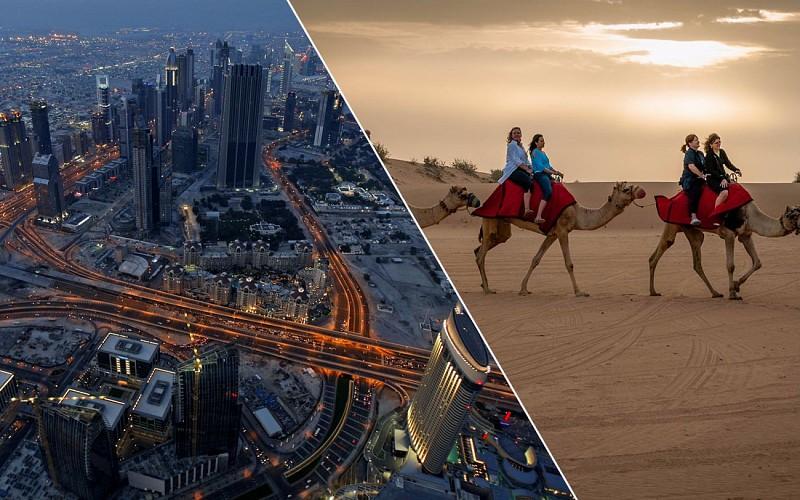 Burj Khalifa At The Top & Desert Safari Combo
