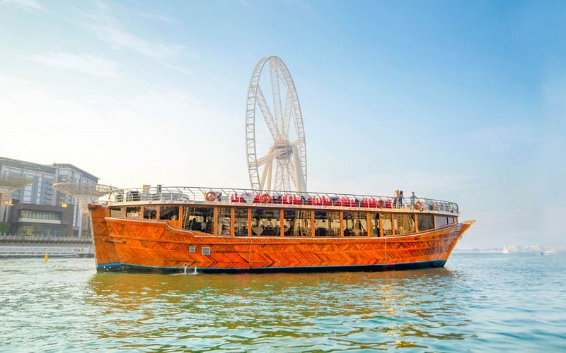 Dubai Marina Sightseeing Dhow Cruise