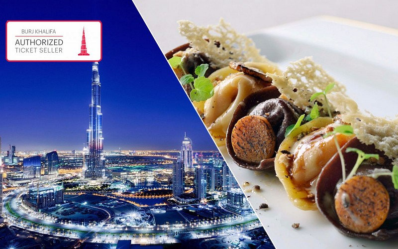 Burj Khalifa: At the Top & 3-Course Lunch at the Armani Hotel