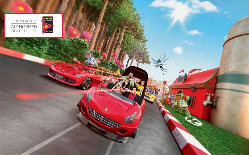Ferrari World Tickets with All Ride Quick Pass