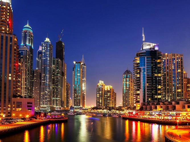 Big Bus Panaromic Night Tour of Dubai