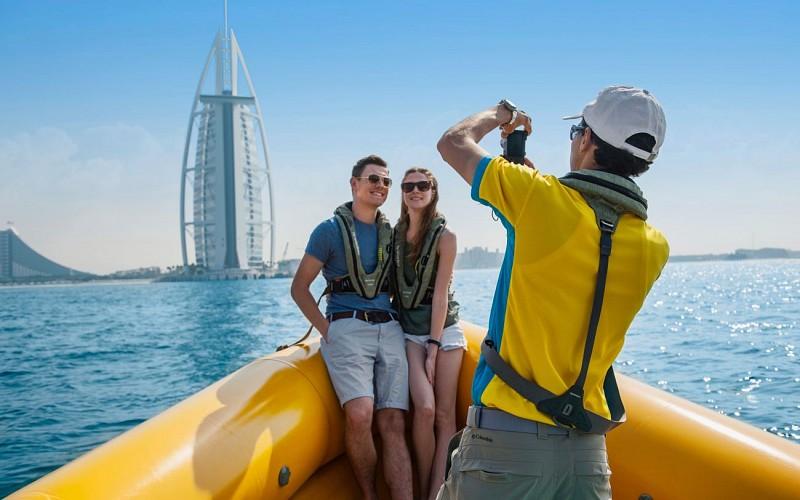 99 Minutes, The Original Tour of Dubai Marina, Palm Jumeirah & Burj Al Arab