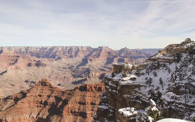 Grand Canyon South Rim Bus & Helicopter Tour