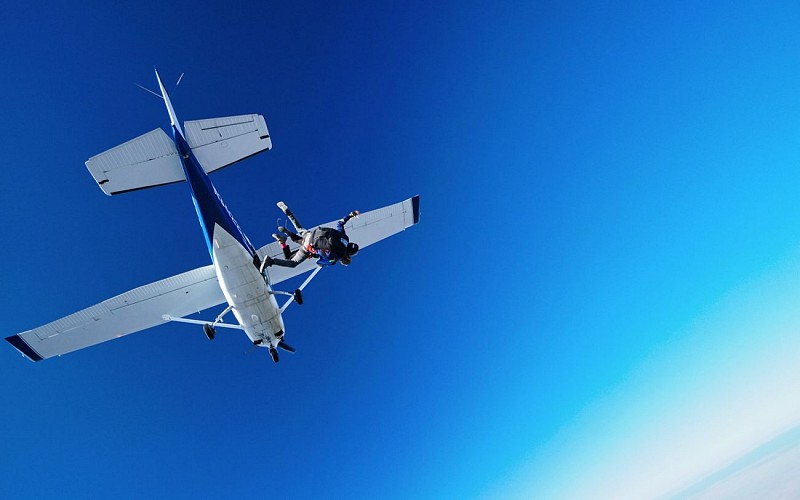 Skydiving at the Grand Canyon