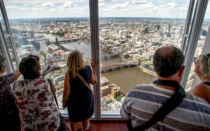 Thames Cruise and The View from the Shard