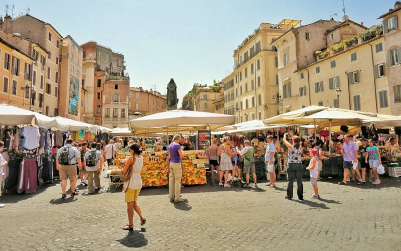 Small-Group Rome Food Walking Tour and Jewish Ghetto
